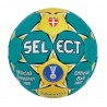 Piłka ręczna Select Match Soft 2014 zielony / żółty rozmiar 3