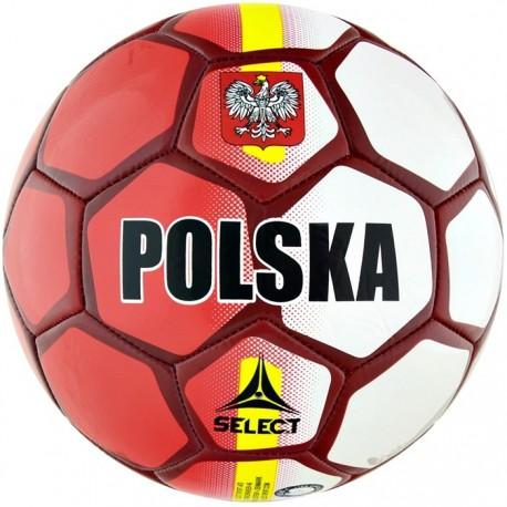 Piłka nożna Select Polska biało - czerwona na Mundial 2018
