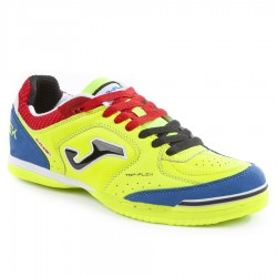 Buty halowe Joma Top Flex 711 żółty/niebieski fluor futsal 42,5