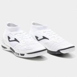 Buty halowe futsalowe Joma Tactico 802 ze skarpetą biały PROMOCJA