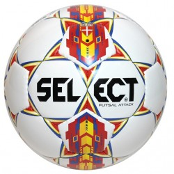 Select Futsal Attack piłka halowa futsalowa biała