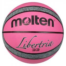 Piłka koszykowa Molten Liberta B6T2000 różowy