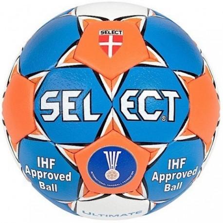 Piłka ręczna Select Ultimate niebieski/pomarańczowy/biały