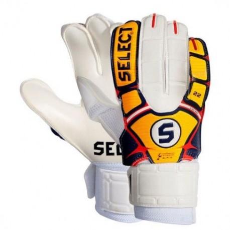 Rękawice bramkarskie Select 22 Flexi Grip pomarańczowy